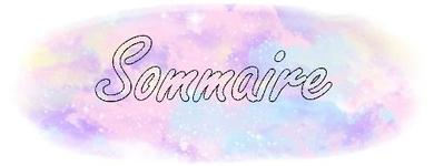 Présentation du Blog + Sommaire