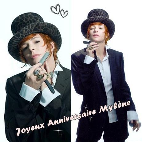 Joyeux Anniversaire Mylène ♥