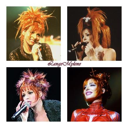 Les plus belles coiffures de Mylène ♥