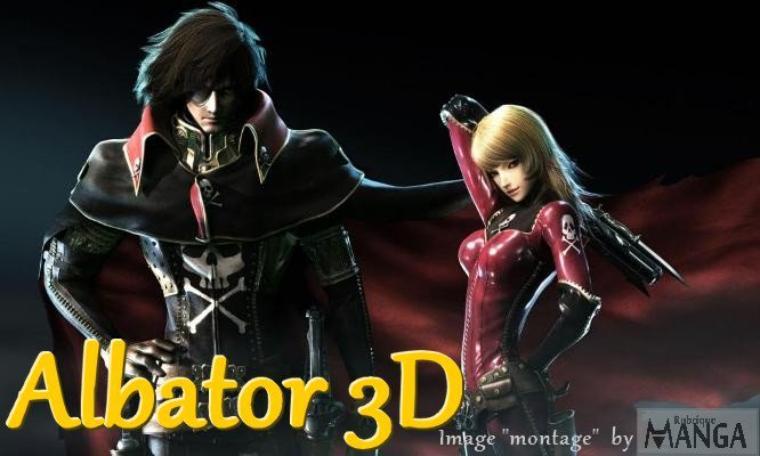 """La prémier adaptation du blalabré Albator """"3D""""."""