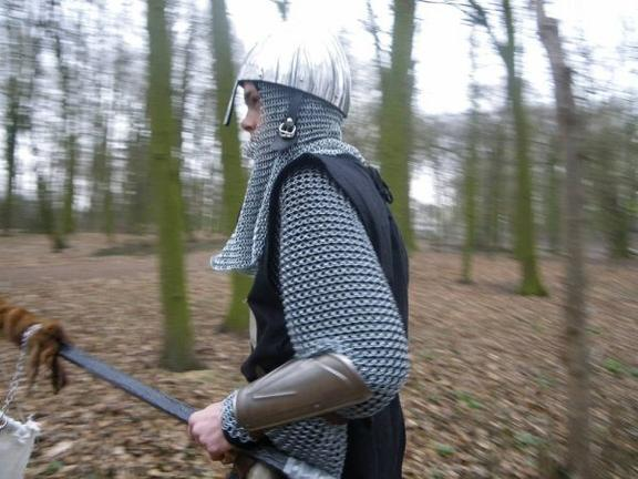 Chef du groupe Black Templars de Trolls de Farfadets