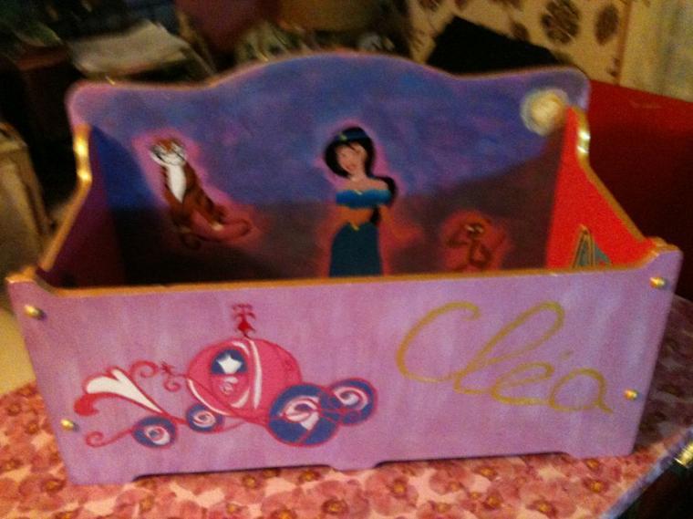 Suite et fin du projet : un coffre à jouet pour Cléa