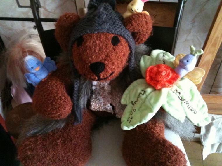 L'ours nature un cadeau pour maman