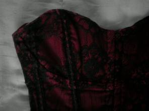 Corset rouge sexy  12e