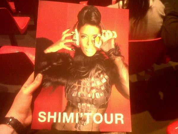 C'est parti ... Shimi Tour 2012