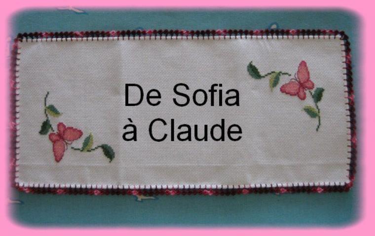 Cadeau pour ma petite Claude!!!