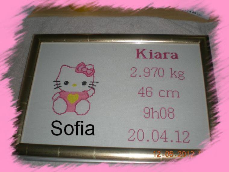 Une kitty pour une naissance