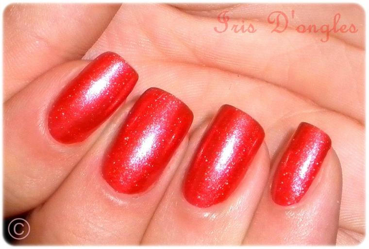 TEST: Vernis N°01 de chez MISS EUROPE