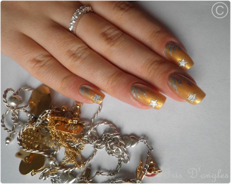"Nail Art ""Précieux Contrastes"" ."
