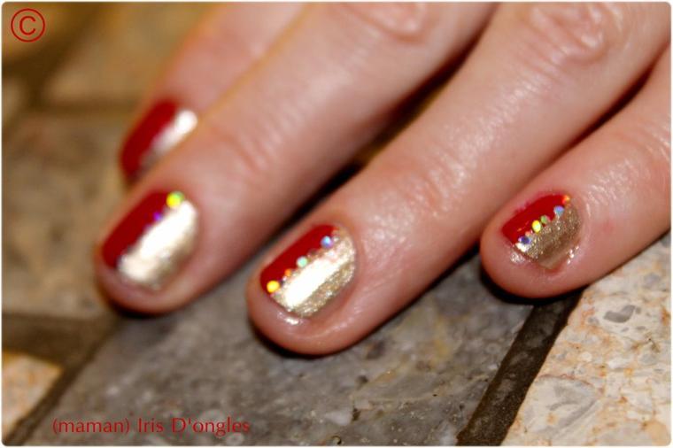 Maman Iris, en Rouge et Or!