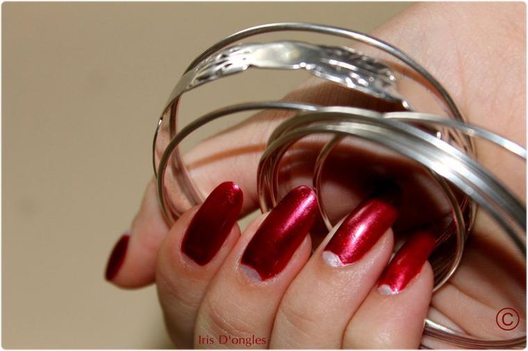 Nail-Art: Half Moon Manucure! (l)