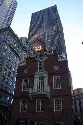 Tea party in BOSTON