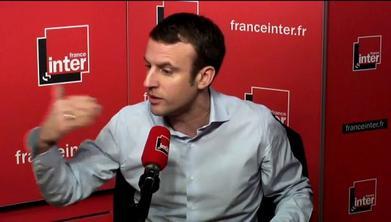 France Inter... Radio Macron...