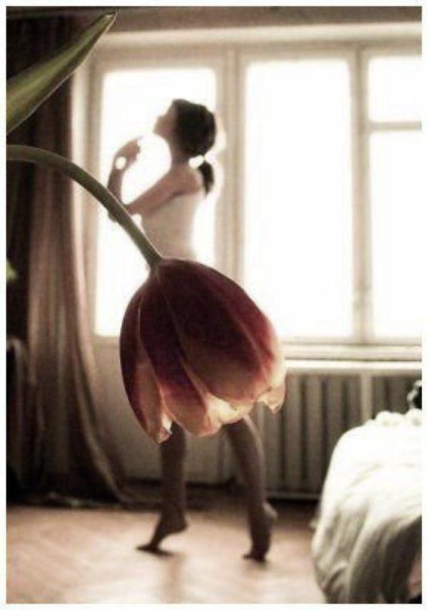 """Une Ballerine au Coeur ..."""