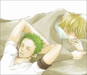 Zoro: Quand Sanji lève le voile.