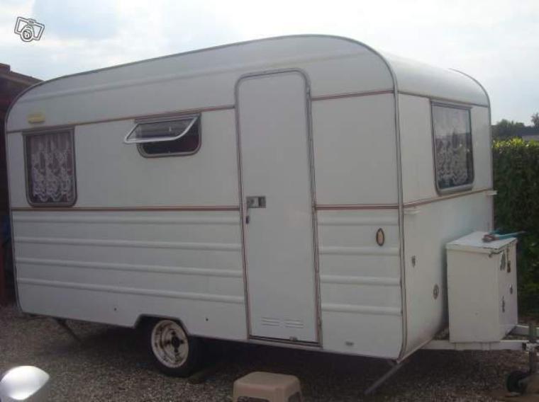 Ma première caravane(camping)