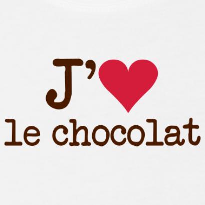 j'aime le chicolat a la folie