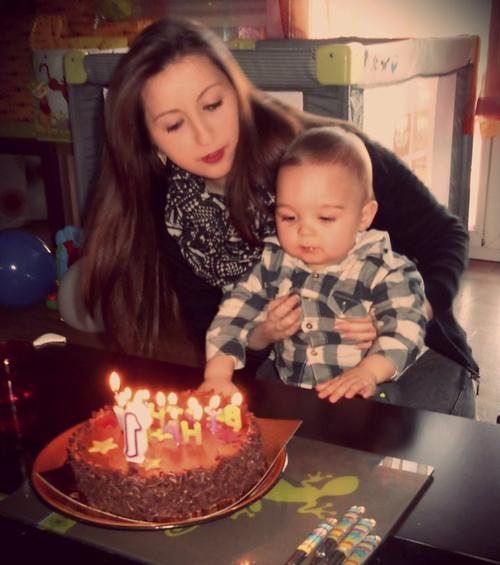 Moi et mon fils Nolhan ♥