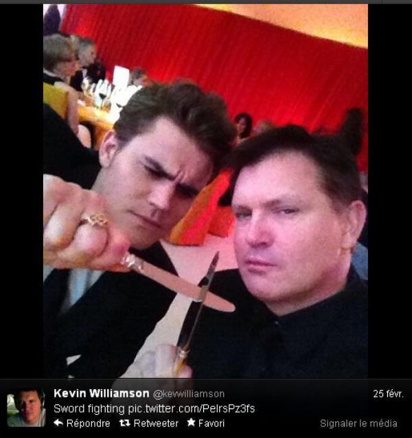 Kevin Williamson a twitter : Attaque de jolis gens