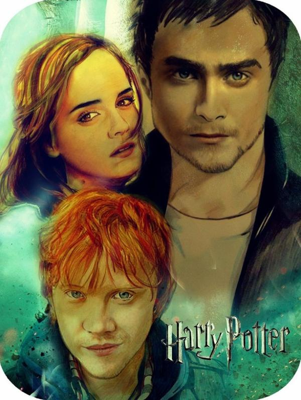 Portraits Harry Potter de ~karlyilustraciones