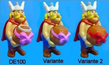 Astérix 50è Anniversaire - DE095 à DE102 (2009)