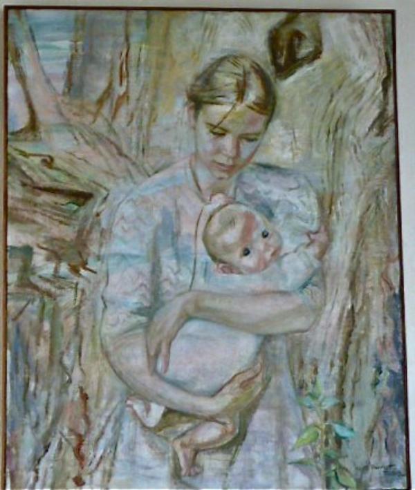 """""""La jeune pousse"""" Odette Pauvert-Tissier 1966."""