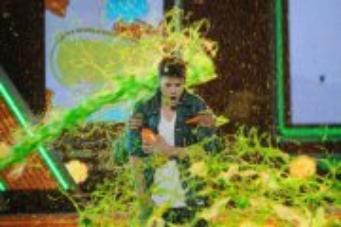 Au Kid Awards , Justin a été aspeger de Jet Vert !