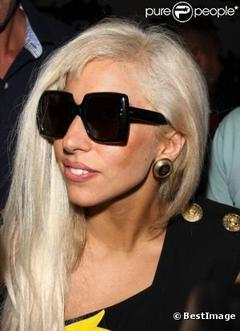 Lady Gaga, le vendredi 12 août 2011.