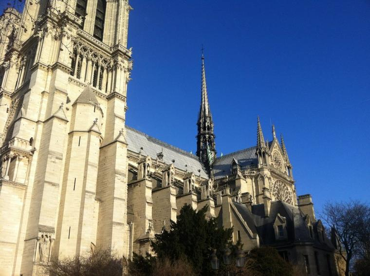Notre Dame de Paris !