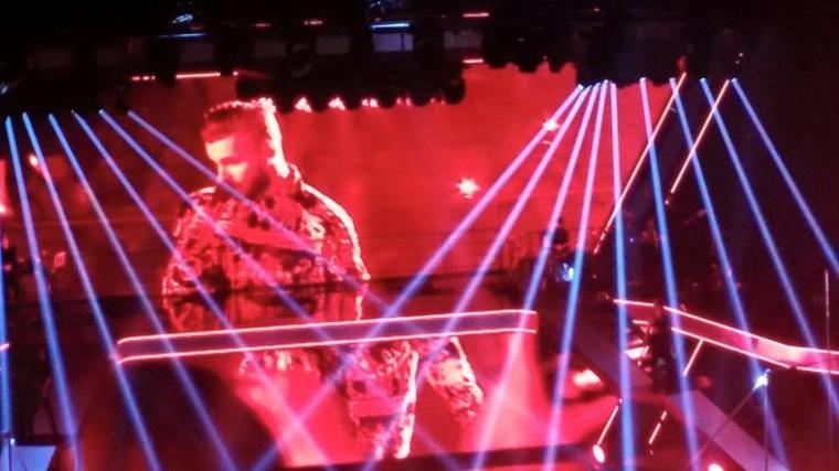 grandiose génial ce concert de M.Pokora