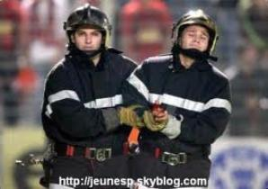 Un pompier blessé lors du match Nice-Marseille