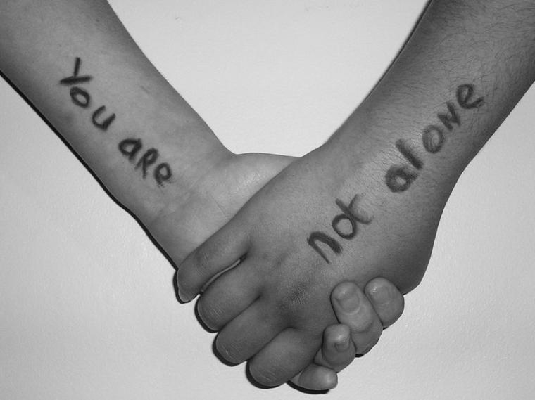 vous n'êtes pas seul !