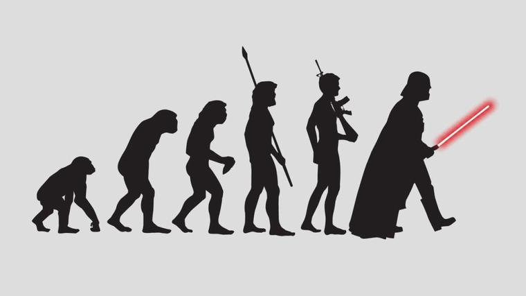 Evolution ok ¿?...