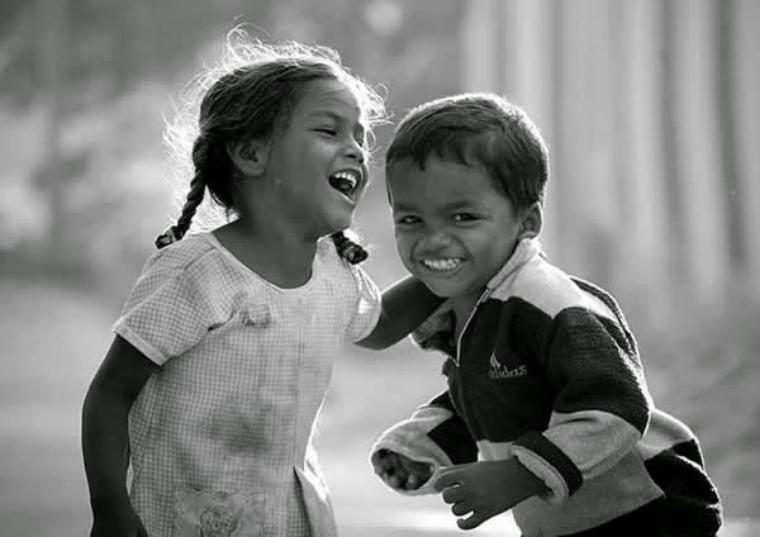 Le sourire est un instant de Paix