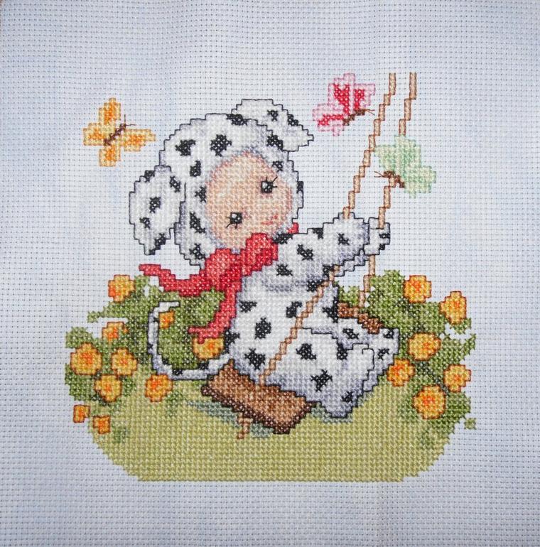 Dalmatian Baby