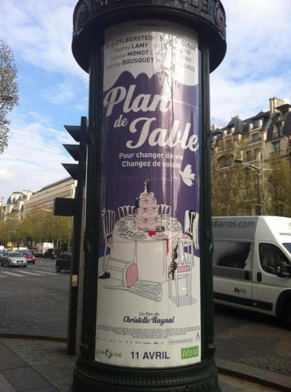 """On y es presque 11 avril sortie de """" Plan de table """""""