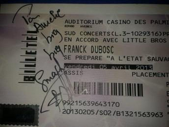 Casino de Hyères le 5 Avril 2013 ...
