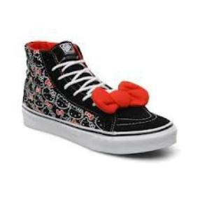 Vans Montante Hello Kitty