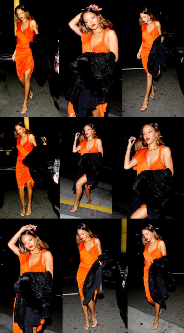 Le 14 Février Rihanna a été appercue se rendant au Valentines Crush Concert à Los Angeles.. !