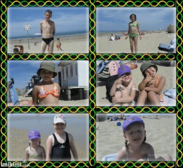journée a la plage cette été.