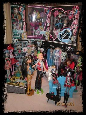 Notre collection Monster High
