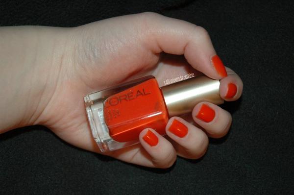 L'orange, c'est fabuleux.