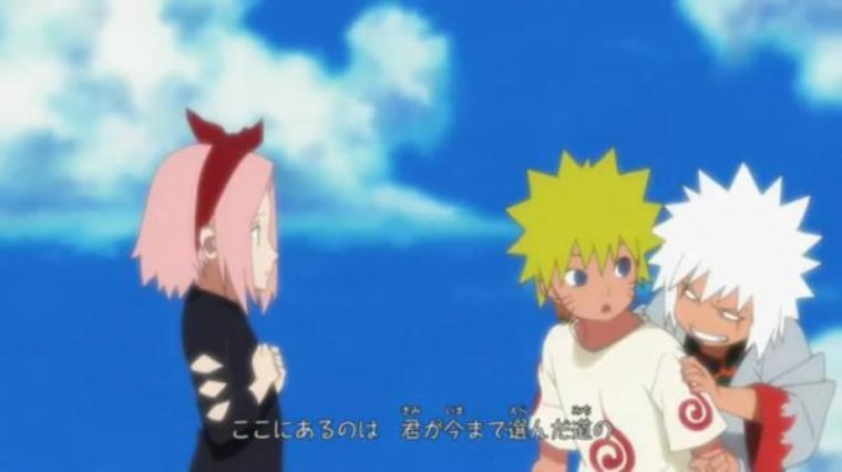 Jiraya & Naruto enfant