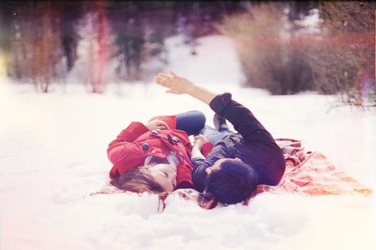 L'hiver approche, et pourtant il n'y a jamais eu autant de chaleur dans mon coeur.