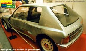 205 Turbo 16 : le Monstre !