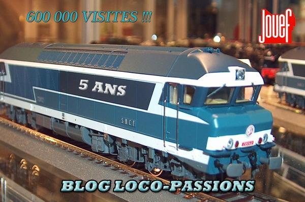 600 000 VISITES POUR LES 5 ANS DE LOCO PASSIONS
