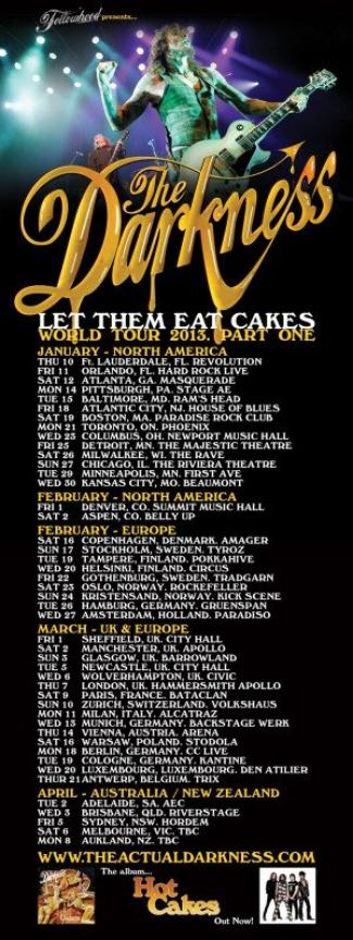 Let Them Eat Cakes - World Tour 2013
