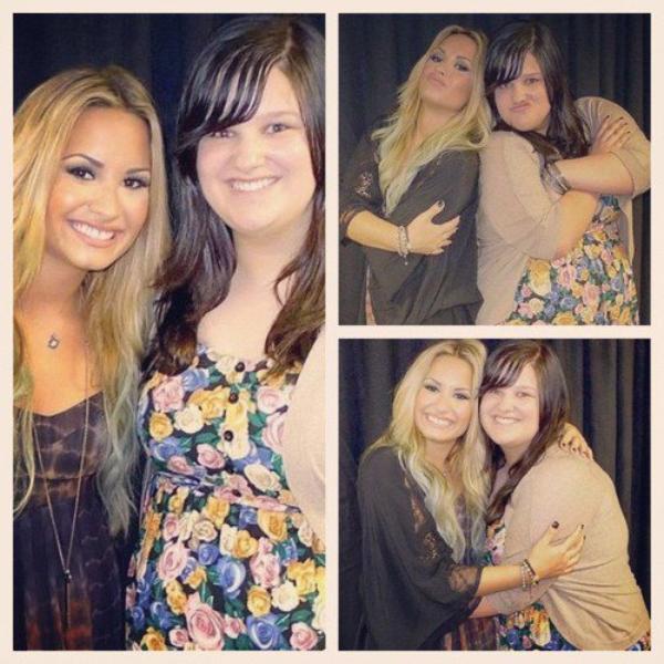 Le 04/O8/12 : Demi lors d'un Meet & Greet