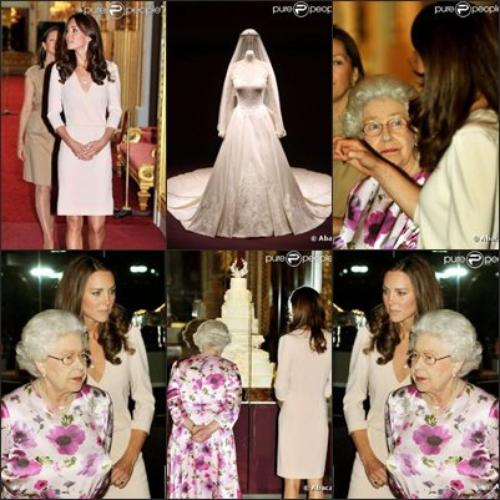 Sortie à Buckingham avec la reine