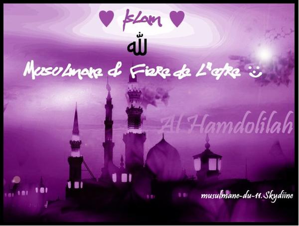Musulmane Et ƒière De L'être !!! Al Hamdoulilah